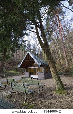 Fatimakapelle (fatima Chapel) Near The Town Of Neuweier, Baden-wurttemberg, Germany