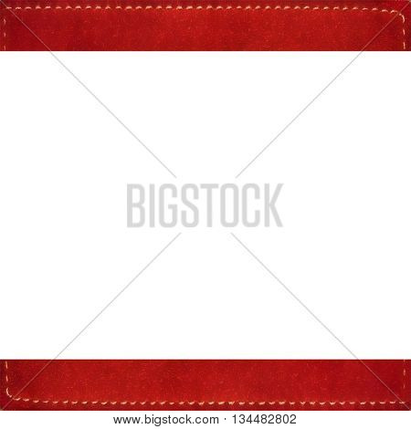 Stationery Background With Suede Borders