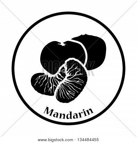 Icon Of Mandarin