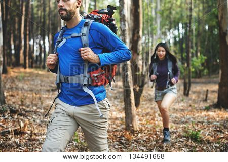 Trek Hiking Destination Experience Lifestyle Concept