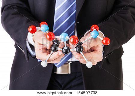 Holding A Tnt Molecule