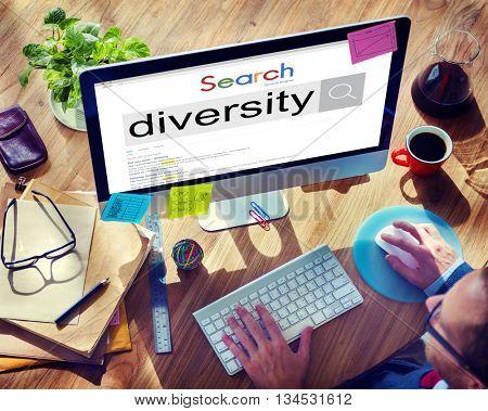 Diverse Diversity Community Ethnic Ethnicity Race Concept
