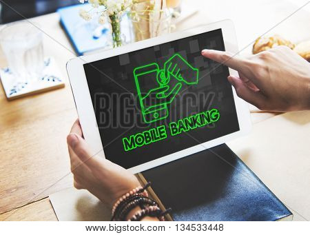 Payment Banking Transaction Accounting E-Bankingt Concept