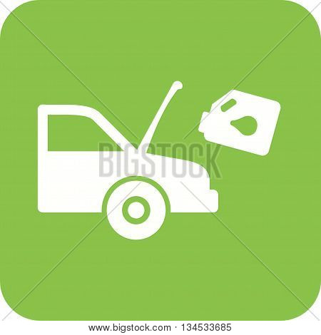 Car, oil, fuel icon vector image. Can also be used for car servicing. Suitable for use on web apps, mobile apps and print media.