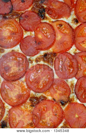 Pizza Topping. Tomatoes  And Cheese (#49)