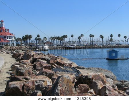 Anlegestelle in Long Beach