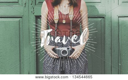 Vacation Holiday Travel Trip Graphic Concept