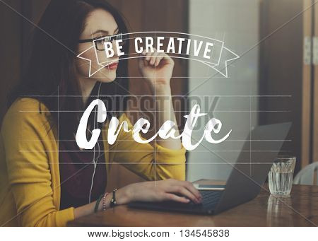 Create Design Ideas Thoughts Vision Concept