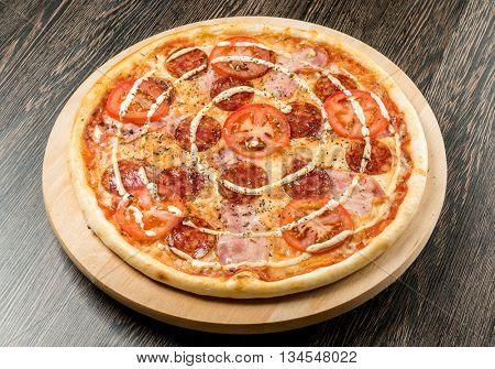 tasty pizza