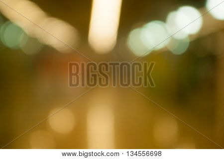 Abstract blurred photo of store with bokeh in department store. Blur store with bokeh background. Blurry photo of the shopping center.