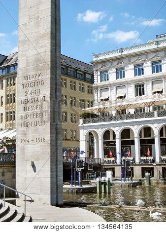 First World War Memorial Hamburg, Germany