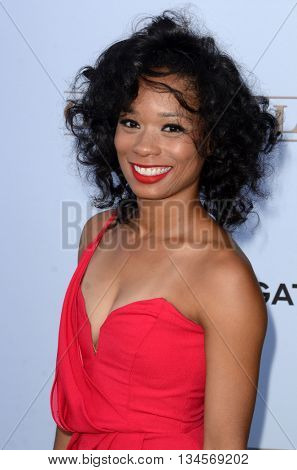 LOS ANGELES - JUN 15:  Terri Abney at the Greenleaf OWN Series Premiere at the The Lot on June 15, 2016 in West Hollywood, CA