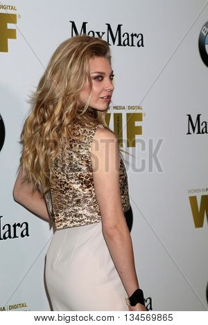 LOS ANGELES - JUN 15:  Natalie Dormer at the Women In Film 2016 Crystal and Lucy Awards at the Beverly Hilton Hotel on June 15, 2016 in Beverly Hills, CA