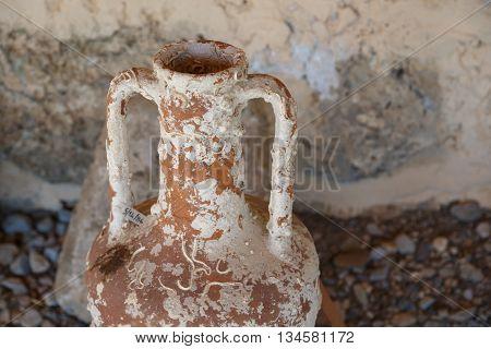 Clay Amphora View