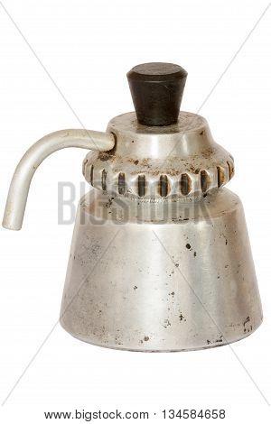 Vintage rerto antique moka espresso travel coffee maker