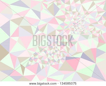 Low poly style vector colorful low poly design Abstract low poly background vector Geometric background with triangular polygons.