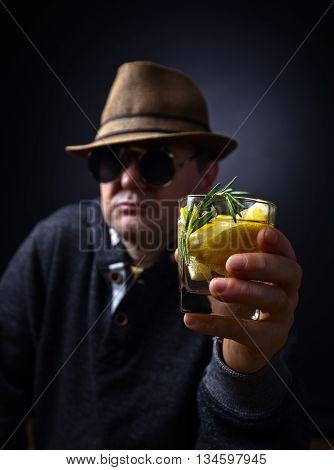 Glass Of Lemon Drink