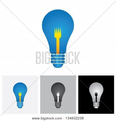 Food Idea Or Culinary Idea Concept Vector Graphic