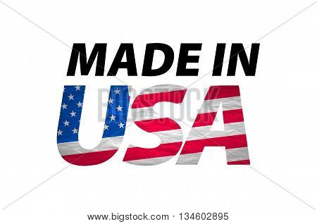 Vector Made In The Usa Logo Vector