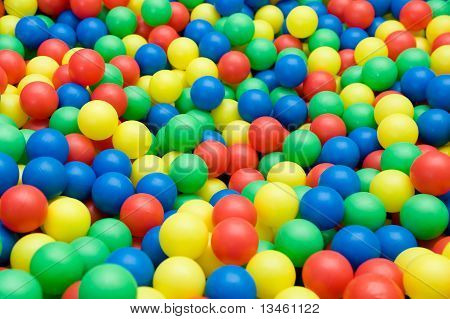 Color Toy Balls
