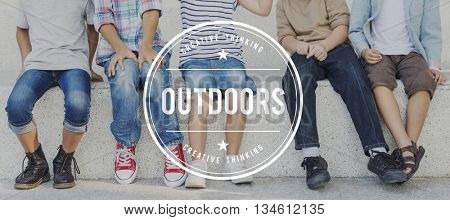 Outdoor Fun Travel Leisure Activity Explore Outdoors Concept