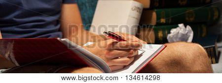 Writting Student