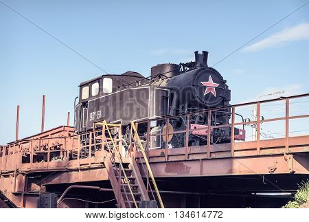 Old Shunting Locomotive 9Pm-161