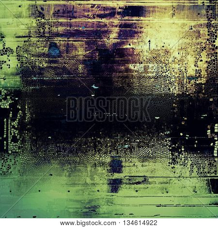 Hi res grunge texture or retro background. With different color patterns: yellow (beige); brown; green; blue; purple (violet); black