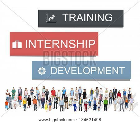 Internship Training Development Business Knowledge Concept
