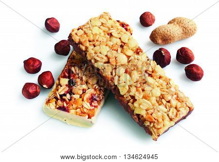 Healthy Cereal Bar With Nuts