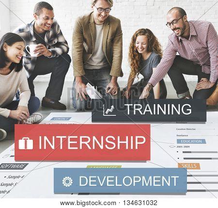 Recruitment Career Employment Business Job Concept