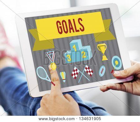 Goals Achievement Dreams Ambition Concept