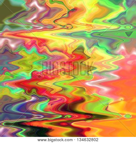 Abstract coloring background of the sunrise gradient with visual  wave effects,good for your idea design