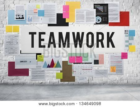 Teamwork Alliance Association Collaboration Concept