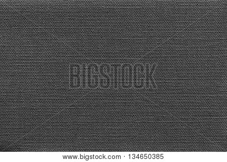 surface of fluted fabric or textile material for the textured wallpaper and for a background of monochrome black color