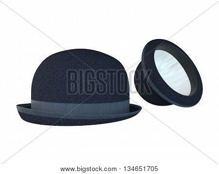 3D Rendering Sherlock Hat