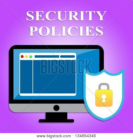 Security Policies Shows Policy Protected And Protocol