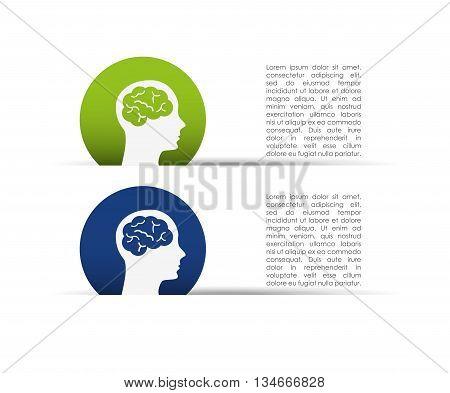 creative profile design, vector illustration eps10 graphic