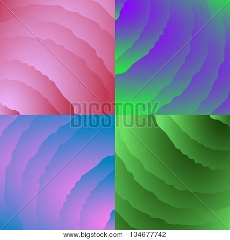 Spindrift clouds. Blue, green, pink, purple clouds for texture, background or pattern.