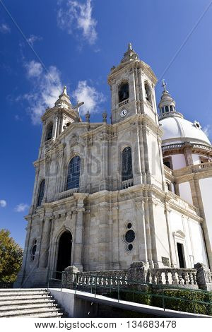 The Sanctuary of Our Lady of Sameiro in Braga Portugal