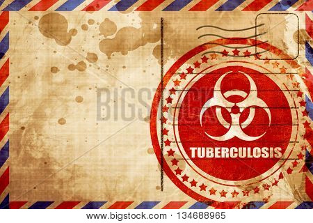 Tuberculosis virus concept background