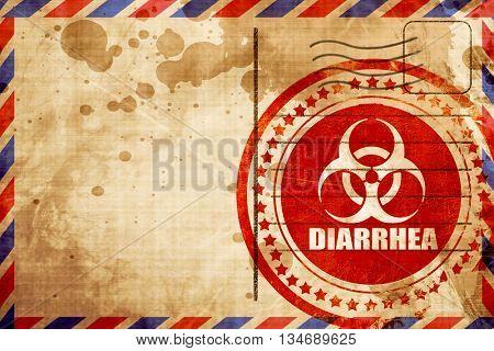 Diarrhea concept background