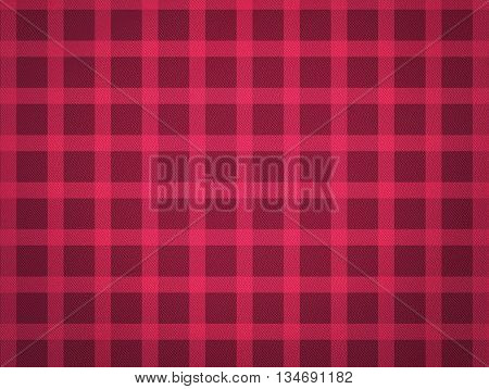 Red Table cloth pattern with texture. Junina Party