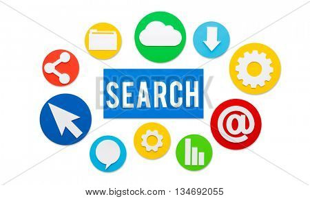 Search Searching Seeking Looking For Concept