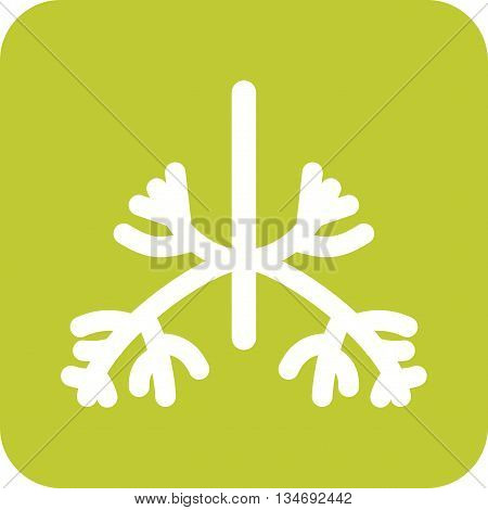 System, health, lungs icon vector image. Can also be used for human anatomy. Suitable for mobile apps, web apps and print media.