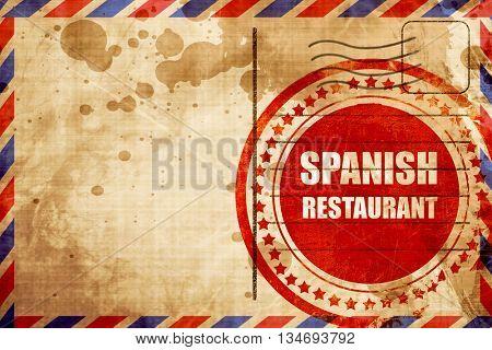 Delicious spanish cuisine