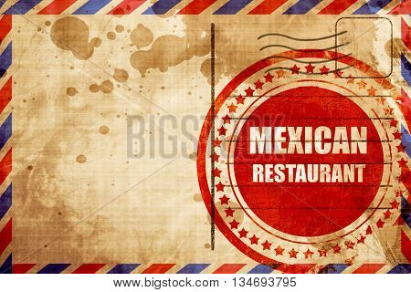 Delicious mexican cuisine