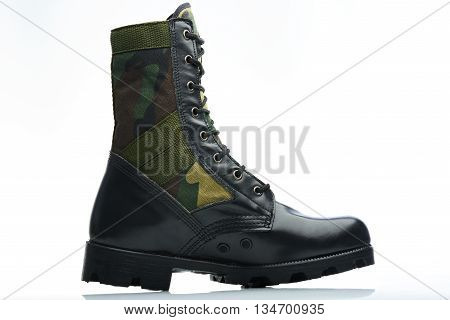 Tall Camouflaged Men Boot