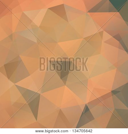 abstract beige background, square simple vector illustration