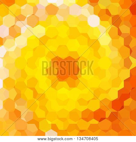 abstract yellow background, simple square vector illustration